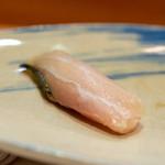 熟成寿司専門店 優雅 - 2019.1 京都サワラ 23日熟成 燻製塩