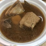 隠岐の島水産 - 漁師汁(ㅇㅁㅇ)100円?(ㅇㅁㅇ)嘘やん鰤のカマも肝も入ってるのに?(ㅇㅁㅇ)(ㅇㅁㅇ)(ㅇㅁㅇ)(ㅇㅁㅇ)(ㅇㅁㅇ)100円って