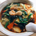 中華料理 香新 - 広東麺
