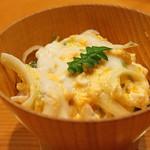 日本料理 たかむら - 御飯  穴道湖の白魚とうるいの玉〆ご飯