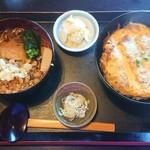 手打ちそば 花千里 - 料理写真:カツ丼セット