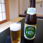 旅館 平利 - ノンアルコールはキリンフリー