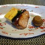 旅館 平利 - 焼き魚(お昼の3,000円コース)