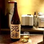 つねまつ久蔵商店 - 加茂福死神・純米(島根県・加茂福酒造)90ml・480円