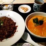Chikuen - 醤油炒飯セット:850円