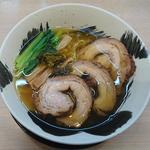 麺や暁 - 塩チャーシュー