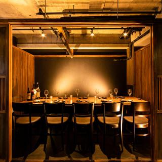 ◆ゆったりした古民家風の個室の空間◆