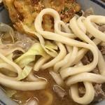 谷村パーキングエリア(上り) フードコート - 吉田のうどん 麺アップ