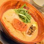 リューズヌードルバー - カリフラワーポタージュのベジ味噌ラーメン(980円)2019年1月