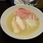 ロトブルワリー 麺や 天空 - 鶏白湯と煮干しのラーメン