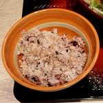 大戸屋ごはん処 - 五穀米のご飯