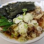 Aoshimashokudou - チャーシュー➕海苔、ほうれん草、メンマ、ネギトッピング