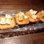 けんしん亭 新福島 - クリームチーズのはちみつがけ♪
