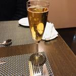 ビストロリコッタ - ノンアルコールスパークリングワイン ¥600