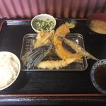 天ぷら 彦天 - 料理写真:天ぷら定食 800円♪