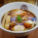 らぁ麺 とうひち - 鶏醤油らぁ麺 味玉トッピング