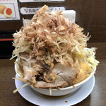 笑福 - 料理写真:ラーメン(全マシマシ)♪