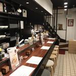 神戸零糖麺家 - 店内 ※2階部分は、使われていません