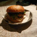 10078920 - 塩豚チーズのベーグル 絶品☆