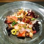 KINOE - 前菜1 本日の鮮魚のカルパッチョ