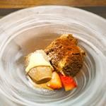 KINOE - デザート ティラミスとエスプレッソアイス