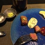 グリルダイニング マキビ - 料理写真:山葵と塩が一番美味しかった!