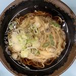味元 - 料理写真:イカかき揚げそば ¥480