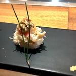 くずし鉄板 あばぐら - 松葉蟹寿司