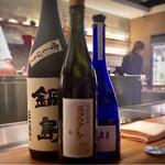 くずし鉄板 あばぐら - メニューに載ってない日本酒をご紹介いただきました♪