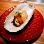 くずし鉄板 あばぐら - 岩手産焼き牡蠣