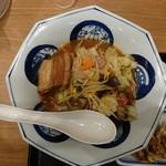 リンガーハット - 2019年1月 角煮ちゃんぽん+Aセット 961+259円
