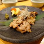 酒菜処 きっすい - 阿波尾鶏の藻塩焼き 780円