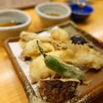 酒菜処 きっすい - 地ダコの天ぷら 880円