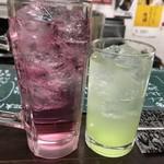 平野屋精肉店 - バイスと野菜チューハイ