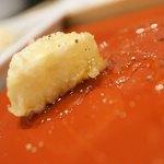 大衆天ぷらtoかすそば風土.はなれ - カマンベールチーズ天
