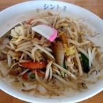 極濃湯麺 シントミ - 【2019.1.27(日)】濃厚タンメン(並盛・150g)810円