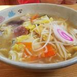 ラーメン専科めんや - 塩五目野菜めん(¥750)