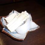 しゃぶ禅 -  お代わりの豆腐、えのき茸、春雨です。