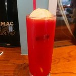スクランブルカフェバー - トマトジュース(バニラアイストッピング)