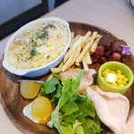 イロハズ・カフェ - 料理写真:ドリアプレート
