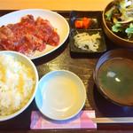 焼肉 万里 - 牛ハラミ定食