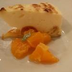 ラ セッテ - キンカンのシブースト 柑橘のコンポート添え