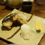 一饗 - 鰆塩焼き