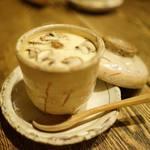 一饗 - モッツァレラチーズの茶碗蒸し
