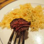 100822232 - 肉ハラミの魂肉ステーキランチ 150g 1380円