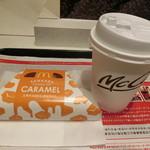 マクドナルド - 三角チョコパイキャラメル150円