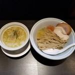 らーめん三極志 - 味玉つけ麺