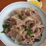 レストラン 余呉湖 - 料理写真:肉丼(近江牛)