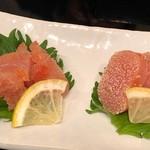 博多華味鳥  - 生タラコと焼きタラコ