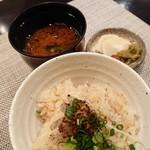 禅紫 - 金目鯛の土鍋御飯